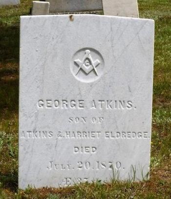 ELDREDGE, GEORGE ATKINS - Suffolk County, New York   GEORGE ATKINS ELDREDGE - New York Gravestone Photos