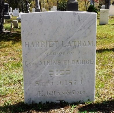 LATHAM, HARRIET - Suffolk County, New York | HARRIET LATHAM - New York Gravestone Photos