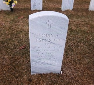 ESPOSITO (WWII), LOUIS A - Suffolk County, New York   LOUIS A ESPOSITO (WWII) - New York Gravestone Photos