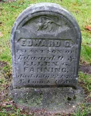 FANNING, EDWARD G. - Suffolk County, New York   EDWARD G. FANNING - New York Gravestone Photos