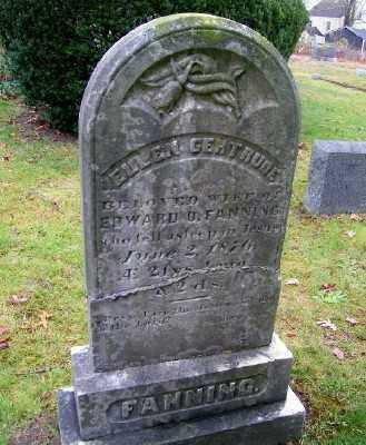 FANNING, ELLEN GERTRUDE - Suffolk County, New York | ELLEN GERTRUDE FANNING - New York Gravestone Photos