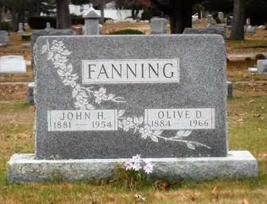 FANNING, OLIVE D - Suffolk County, New York | OLIVE D FANNING - New York Gravestone Photos