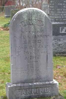 FANNING, MARY - Suffolk County, New York   MARY FANNING - New York Gravestone Photos