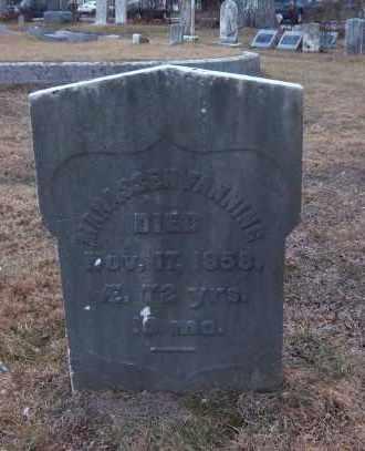 FANNING, MANASSEH - Suffolk County, New York   MANASSEH FANNING - New York Gravestone Photos
