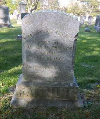 WELLS FANNING, MARY C. - Suffolk County, New York | MARY C. WELLS FANNING - New York Gravestone Photos