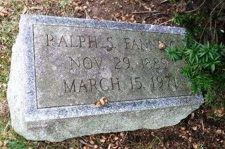 FANNING, RALPH S - Suffolk County, New York   RALPH S FANNING - New York Gravestone Photos