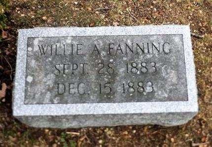 FANNING, WILLIE A - Suffolk County, New York   WILLIE A FANNING - New York Gravestone Photos