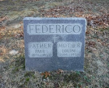 FEDERICO, PAUL - Suffolk County, New York   PAUL FEDERICO - New York Gravestone Photos