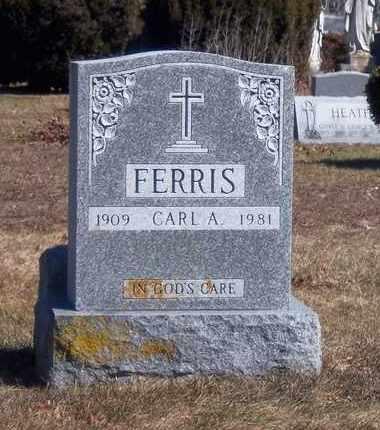 FERRIS, CARL A - Suffolk County, New York   CARL A FERRIS - New York Gravestone Photos