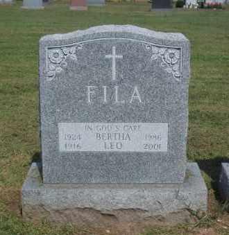 FILA, LEO - Suffolk County, New York | LEO FILA - New York Gravestone Photos