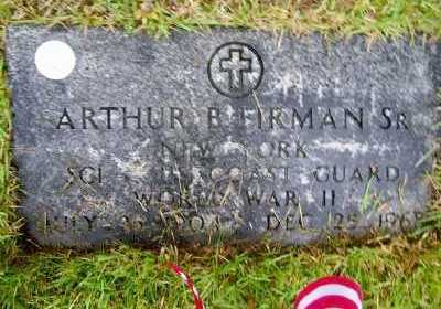 FIRMAN (WWII), ARTHUR B. - Suffolk County, New York | ARTHUR B. FIRMAN (WWII) - New York Gravestone Photos