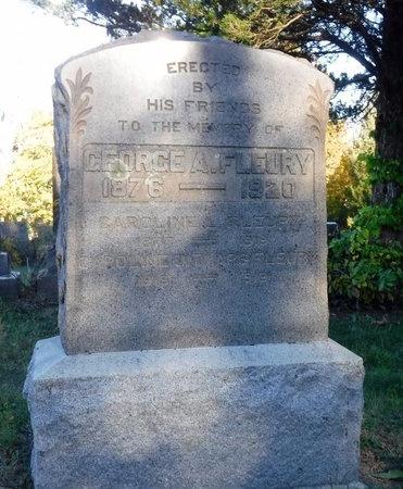 FLEURY, CAROLINE - Suffolk County, New York | CAROLINE FLEURY - New York Gravestone Photos