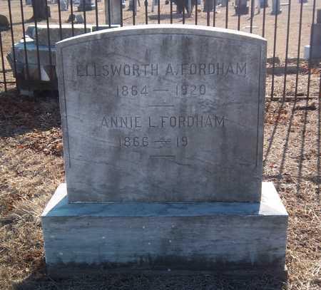 FORDHAM, ELLSWORTH A - Suffolk County, New York | ELLSWORTH A FORDHAM - New York Gravestone Photos