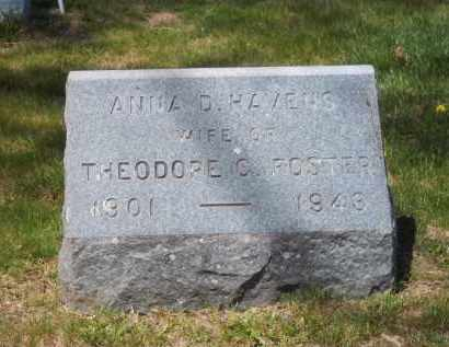 FOSTER, ANNA D. - Suffolk County, New York | ANNA D. FOSTER - New York Gravestone Photos