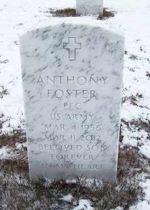 FOSTER (SERV), ANTHONY - Suffolk County, New York | ANTHONY FOSTER (SERV) - New York Gravestone Photos