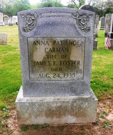 FOSTER, ANNA PATIENCE - Suffolk County, New York | ANNA PATIENCE FOSTER - New York Gravestone Photos