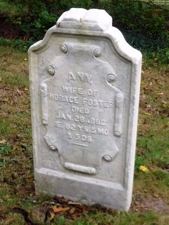 FOSTER, ANN - Suffolk County, New York | ANN FOSTER - New York Gravestone Photos