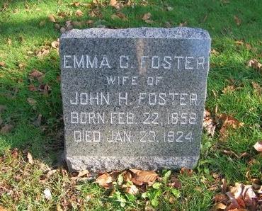 FOSTER, EMMA C - Suffolk County, New York | EMMA C FOSTER - New York Gravestone Photos