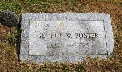 FOSTER, GEORGE W - Suffolk County, New York   GEORGE W FOSTER - New York Gravestone Photos