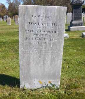 FOSTER, JOSIAH H. - Suffolk County, New York | JOSIAH H. FOSTER - New York Gravestone Photos