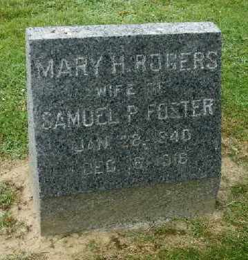 FOSTER, MARY H - Suffolk County, New York | MARY H FOSTER - New York Gravestone Photos