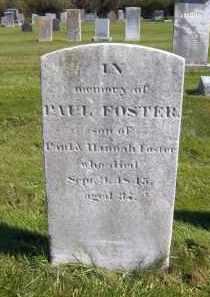 FOSTER, PAUL - Suffolk County, New York | PAUL FOSTER - New York Gravestone Photos