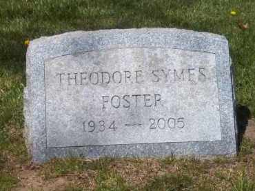 FOSTER, THEODORE SYMES - Suffolk County, New York | THEODORE SYMES FOSTER - New York Gravestone Photos