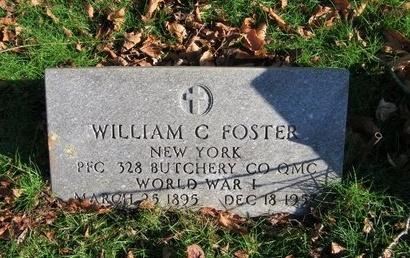 FOSTER, WILLIAM C - Suffolk County, New York | WILLIAM C FOSTER - New York Gravestone Photos