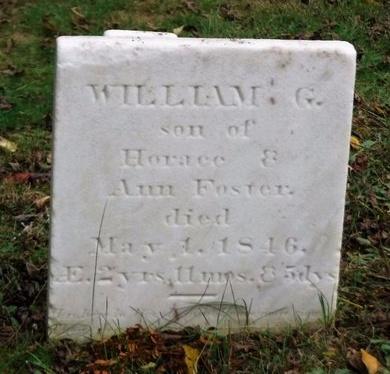 FOSTER, WILLIAM G - Suffolk County, New York | WILLIAM G FOSTER - New York Gravestone Photos