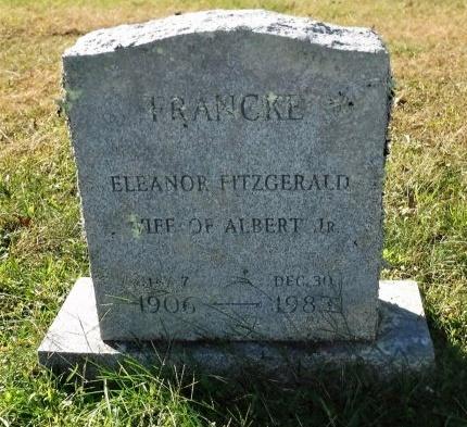 FRANCKE, ELEANOR - Suffolk County, New York | ELEANOR FRANCKE - New York Gravestone Photos