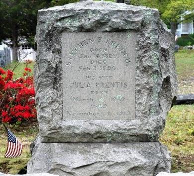 PRENTIS, JULIA - Suffolk County, New York | JULIA PRENTIS - New York Gravestone Photos
