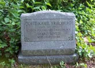 FRIEDBERG, DORIT - Suffolk County, New York | DORIT FRIEDBERG - New York Gravestone Photos