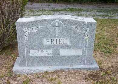 FRIEL, JOHN A - Suffolk County, New York | JOHN A FRIEL - New York Gravestone Photos