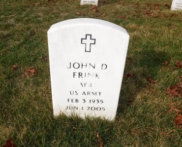 FRINK, JOHN D - Suffolk County, New York | JOHN D FRINK - New York Gravestone Photos