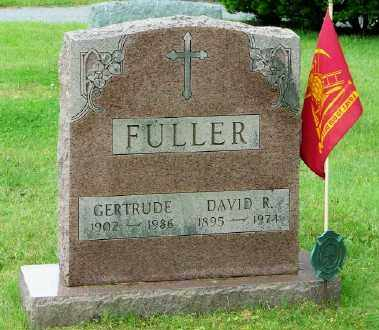 FULLER, DAVID R - Suffolk County, New York | DAVID R FULLER - New York Gravestone Photos