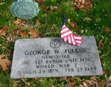 FULLER, GEORGE W - Suffolk County, New York | GEORGE W FULLER - New York Gravestone Photos