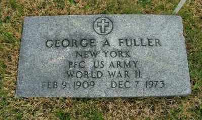 FULLER, GEORGE A - Suffolk County, New York | GEORGE A FULLER - New York Gravestone Photos