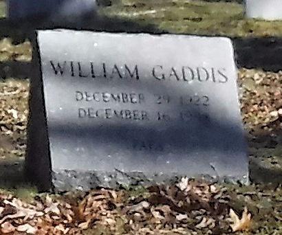 GADDIS, WILLIAM - Suffolk County, New York   WILLIAM GADDIS - New York Gravestone Photos