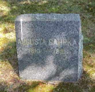GAHRKA, AUGUSTA - Suffolk County, New York   AUGUSTA GAHRKA - New York Gravestone Photos