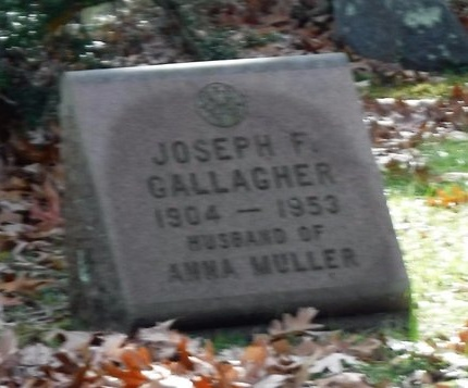 GALLAGHER, JOSEPH F - Suffolk County, New York | JOSEPH F GALLAGHER - New York Gravestone Photos