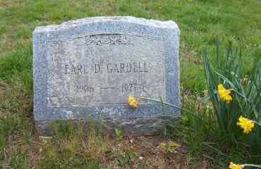 GARDELL, EARL D. - Suffolk County, New York   EARL D. GARDELL - New York Gravestone Photos