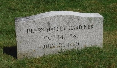 GARDINER, HENRY HALSEY - Suffolk County, New York | HENRY HALSEY GARDINER - New York Gravestone Photos