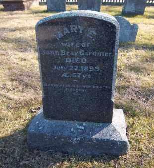 GARDINER, MARY E. - Suffolk County, New York   MARY E. GARDINER - New York Gravestone Photos