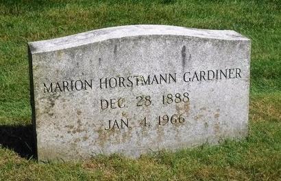 GARDINER, MARION - Suffolk County, New York | MARION GARDINER - New York Gravestone Photos