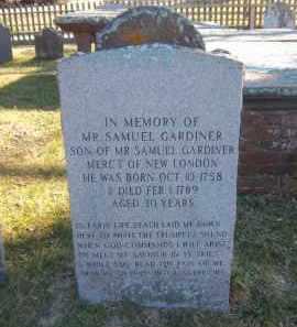 GARDINER, SAMUEL - Suffolk County, New York | SAMUEL GARDINER - New York Gravestone Photos