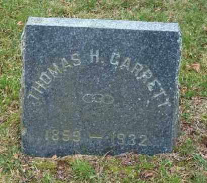 GARRETT, THOMAS H. - Suffolk County, New York | THOMAS H. GARRETT - New York Gravestone Photos