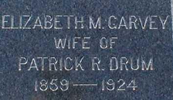 GARVEY, ELIZABETH M. - Suffolk County, New York | ELIZABETH M. GARVEY - New York Gravestone Photos
