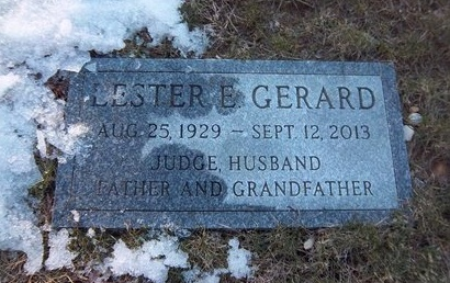 GERARD, LESTER E - Suffolk County, New York | LESTER E GERARD - New York Gravestone Photos