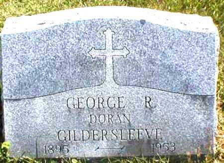 GILDERSLEEVE, GEORGE R. DORAN - Suffolk County, New York | GEORGE R. DORAN GILDERSLEEVE - New York Gravestone Photos