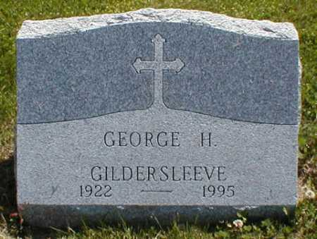 GILDERSLEEVE, GEORGE H. - Suffolk County, New York | GEORGE H. GILDERSLEEVE - New York Gravestone Photos
